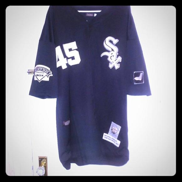 Micheal Jordan Chicago white sox jersey eb56b65db45b